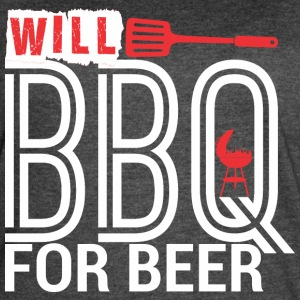 Will BBQ For Beer Barbecue - Women's Vintage Sport T-Shirt