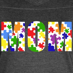 Autism Mom Love Awareness - Women's Vintage Sport T-Shirt