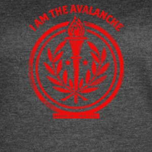 I am the Avalanche - Women's Vintage Sport T-Shirt