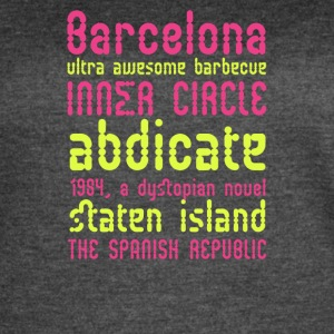 Barcelona ultra awesome barbecue - Women's Vintage Sport T-Shirt