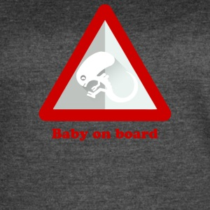 Baby Alien On Board - Women's Vintage Sport T-Shirt