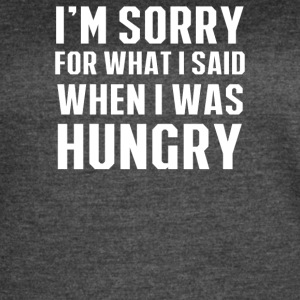 Hungry Apology - Women's Vintage Sport T-Shirt