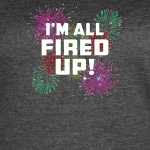 Im All Fired Up - Women's Vintage Sport T-Shirt