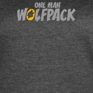 One Man Wolfpack - Women's Vintage Sport T-Shirt