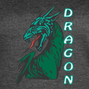 Angry_dragon_2_color - Women's Vintage Sport T-Shirt