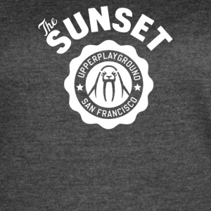 The Sunset - Women's Vintage Sport T-Shirt