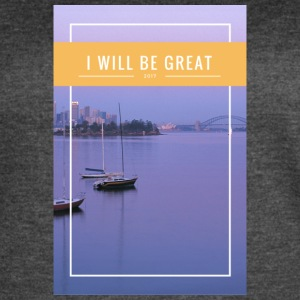 I Will Be Great - Women's Vintage Sport T-Shirt