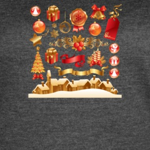 Christmas Elements 6 - Women's Vintage Sport T-Shirt