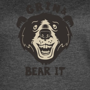 Grin And Bear It - Women's Vintage Sport T-Shirt