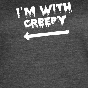 I m With Creepy - Women's Vintage Sport T-Shirt