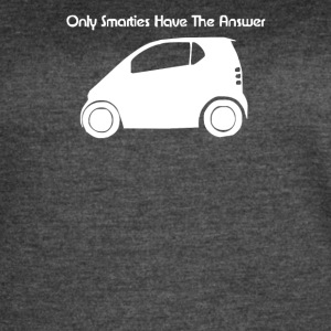 Only Smarties have the Answer Funny - Women's Vintage Sport T-Shirt
