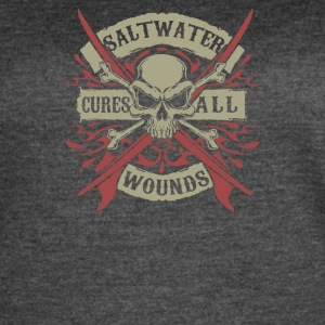 Salt Water Cures All Wounds - Women's Vintage Sport T-Shirt