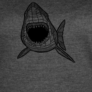 Shark sketch - Women's Vintage Sport T-Shirt