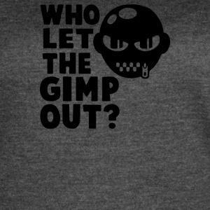 Who Let the Gimp Out - Women's Vintage Sport T-Shirt