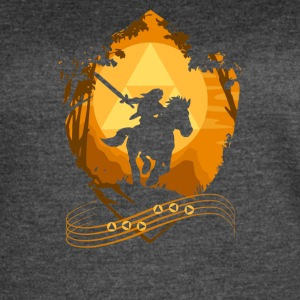 Knight Riding Cyber System - Women's Vintage Sport T-Shirt