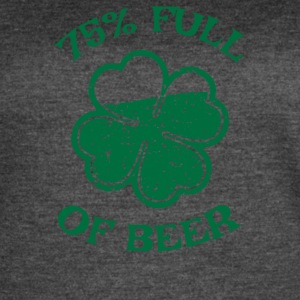 75 Full Of Beer - Women's Vintage Sport T-Shirt