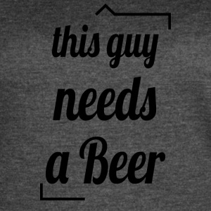 This guy needs a beer - Women's Vintage Sport T-Shirt