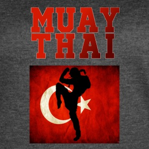 Muay_Thai_Turkey - Women's Vintage Sport T-Shirt