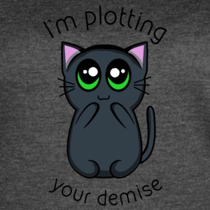 Plotting your Demise - Women's Vintage Sport T-Shirt
