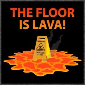The Floor Is Lava - Women's Vintage Sport T-Shirt
