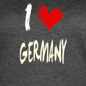I love GERMANY - Women's Vintage Sport T-Shirt