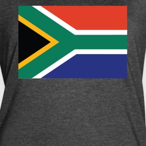 Flag of South Africa Cool South African Flag - Women's Vintage Sport T-Shirt
