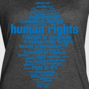 human rights - Women's Vintage Sport T-Shirt