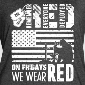 Remember Everyone Deployed Red Friday Shirt - Women's Vintage Sport T-Shirt