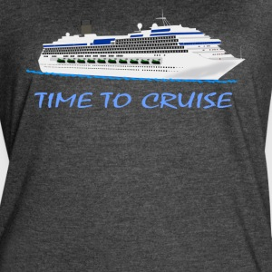 Time to Cruise T-Shirt - Women's Vintage Sport T-Shirt
