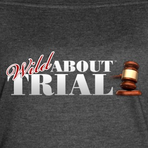Wild About Trial Logo - Women's Vintage Sport T-Shirt