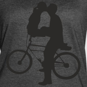 cycle kiss - Women's Vintage Sport T-Shirt