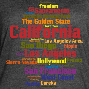 California (CA, The Golden State) Shirt - Women's Vintage Sport T-Shirt