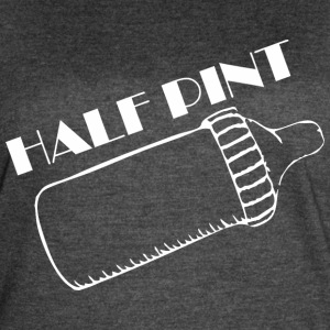 Half Pint Happy Fathers Day - Women's Vintage Sport T-Shirt