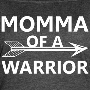 Momma Of A Warrior - Women's Vintage Sport T-Shirt