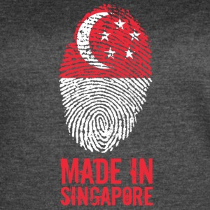 Made In Singapore / 新加坡共和国 - Women's Vintage Sport T-Shirt