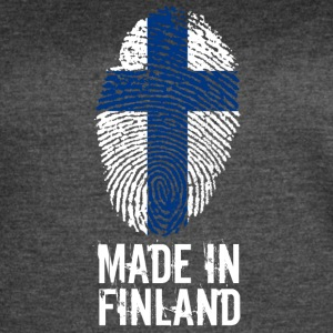 Made in Finland / Suomi - Women's Vintage Sport T-Shirt