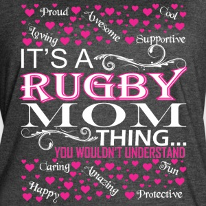 Its A Rugby Mom Things You Wouldnt Understand - Women's Vintage Sport T-Shirt