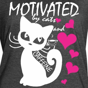 Motivated By Cats And Caffeine - Women's Vintage Sport T-Shirt
