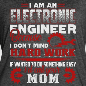 ELECTRONIC ENGINEER SHIRT - Women's Vintage Sport T-Shirt