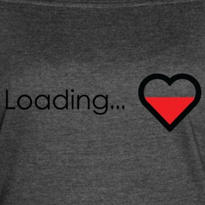 Loading heart - Women's Vintage Sport T-Shirt