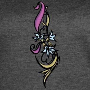 purple_and_brown_flower - Women's Vintage Sport T-Shirt