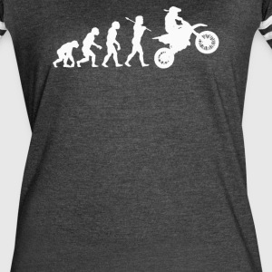 EVOLUTION MOTOCROSS - Women's Vintage Sport T-Shirt