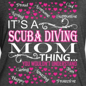 Its A Scuba Diving Mom Things Wouldnt Understand - Women's Vintage Sport T-Shirt