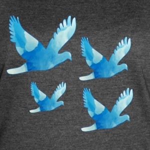 Flying Doves / Pigeons - Women's Vintage Sport T-Shirt