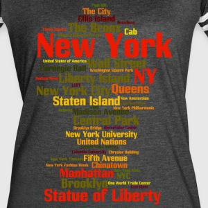 New York City (NY, NYC) - Women's Vintage Sport T-Shirt