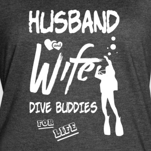 Husband And Wife Dive Buddies For Life T Shirt - Women's Vintage Sport T-Shirt