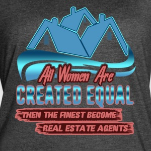 I Am A Real Estate Agent Shirt - Women's Vintage Sport T-Shirt