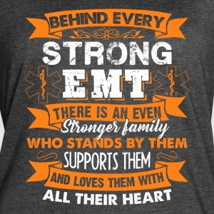 behind every strong emt shirt - Women's Vintage Sport T-Shirt