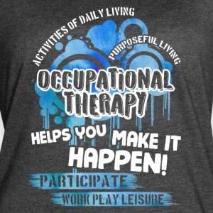 Occupational Therapy Shirt - Women's Vintage Sport T-Shirt