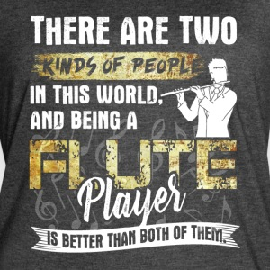 FLUTE PLAYER SHIRT - Women's Vintage Sport T-Shirt